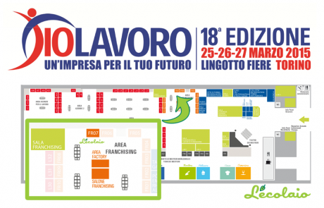L'Ecolaio a IoLavoro – 25, 26 e 27 Marzo 2015 presso Lingotto Fiere – Torino