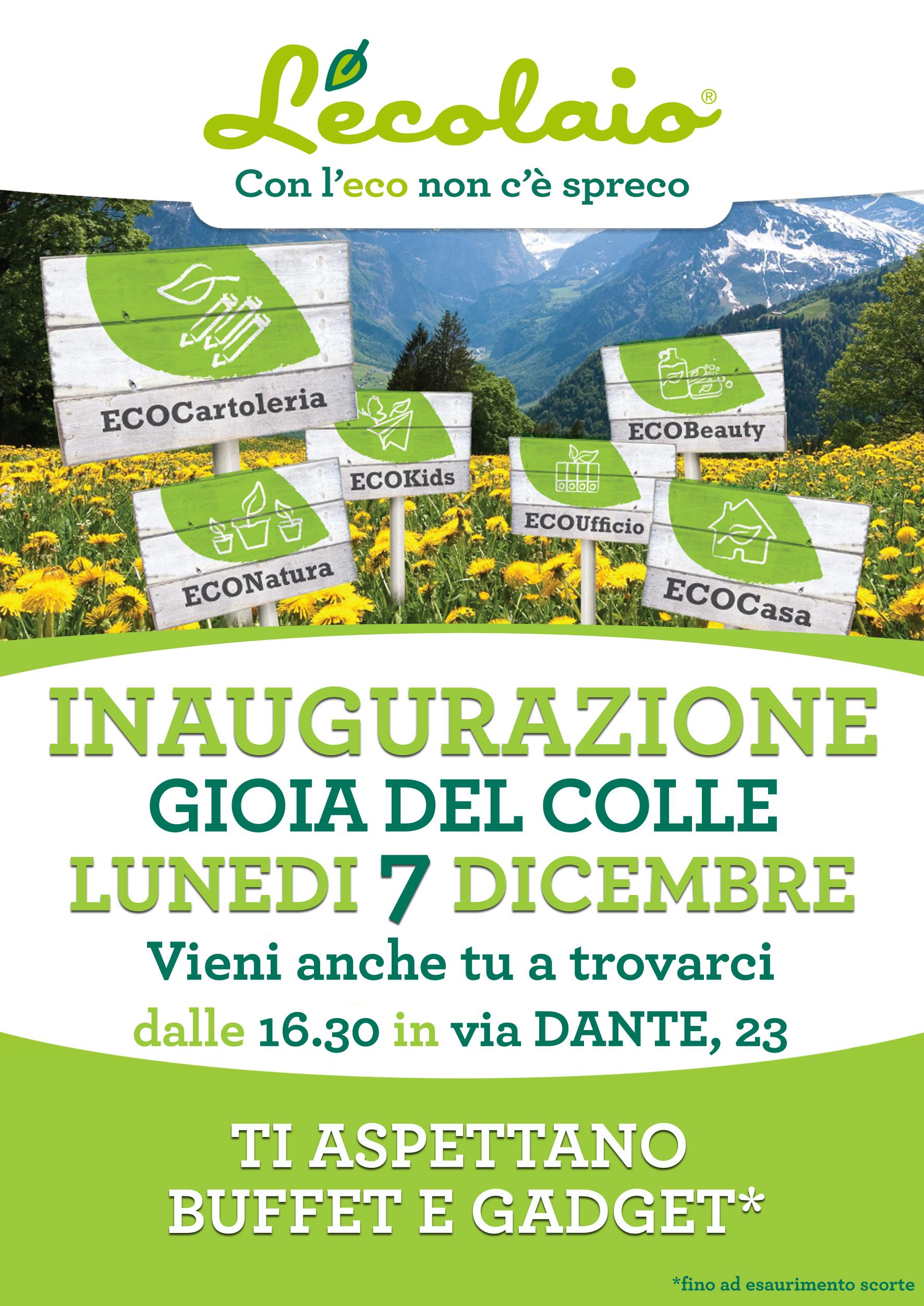 dicembre inaugurazione Gioia del Colle - LEcolaio